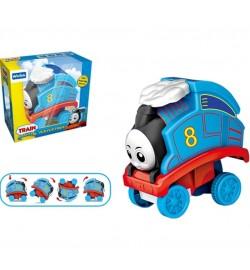 Перевертыш E6013 (72шт) в коробке 15*14*8см поезд