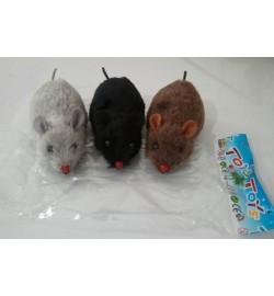 Иннерционные  мыши 651 (960шт/2) 3 цвета,/цена за шт/ в пакете 12*3,5 см