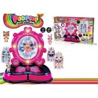 Трюмо 2053 Poopsie Cutie Tooties с набором батар.муз.свет.кор.40*8,5*24,5 /36/