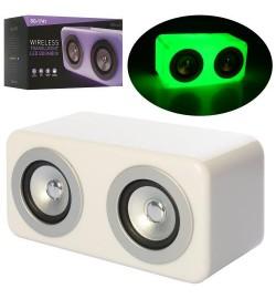 Колонка SG-1741 (24шт) куб12,5см,аккум, bluetooth, MP3, 2режима света,USBзаряд,в кор-ке, 16-17-15см