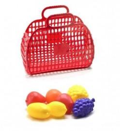 Сумочка кошик з фруктами, 7предм (20шт / уп)