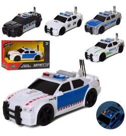 Машина AS-2162 (48шт) АвтоСвіт,полиция, инер-я,19см,зв,св, 5вид, бат(таб), в кор-ке, 23,5-15,5-11см