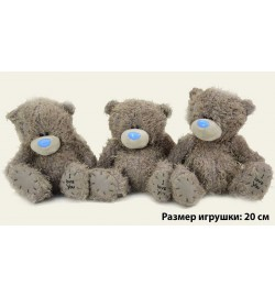 Мягкая игрушка Мишка  20NC (24шт)  20см, без одежды