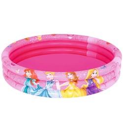 BW Бассейн 91047 (12шт) Принцессы,круглый,3 кольца,122-25см,рем запл,140л,в кор-ке,28-27-4см
