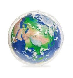 BW М'яч 31045 (24шт) Земля, 61см, надувний, від 2 років