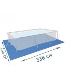 BW Подстилка 58101 (8шт) для бассейнов, прямоугольная, 338-239см