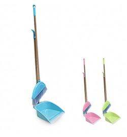Набор для уборки (метла, совок) 25*82см C39732 (60наб)