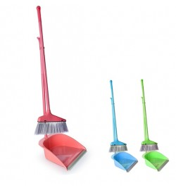 Набор для уборки (метла, совок) 75*25см R87928 (60наб)