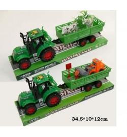 Трактор инерц 1035-7/9 (845117/19) (72шт/2) 2 вида, под слюдой 34,5*10*12см
