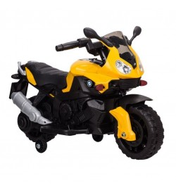 Электромобиль T-7219/1 YELLOW мотоцикл 6V4.5AH мотор 1*20W с MP3 90*42*62 /1/