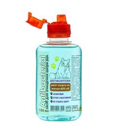 Засіб для очищення шкіри рук ANTIBACTERIAL, 150 мл,антисептик