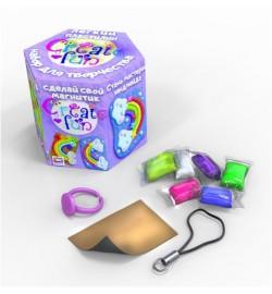Набір легкого стрибаючого пластиліну ТМ Moon Light Clay Create fun Магніт пластилин тесто