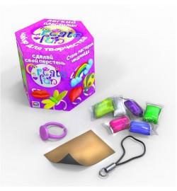 Набір легкого стрибаючого пластиліну ТМ Moon Light Clay Create fun Перстень тесто пластилин