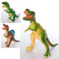 Фигурка E015-11A-13A-16A (30шт) динозавр, 40см, 3вида, в кульке, 40-21-12см