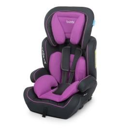 Автокресло детское M 4250 Purple (2шт) группы 1,2,3 с изофикс, серо-фиолет.
