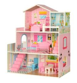 Деревянная игрушка Домик MD 2251 (3шт) 3этажа, ш60,5-в70-г24,5см, мебель, в кор-ке, 36,5-61-8см