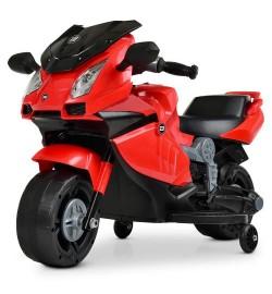 Мотоцикл M 4082-3 (1шт) 1мотор25W, 1аккум6V4AH, музыка, свет, красный