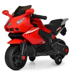 Мотоцикл M 4215-3 (1шт) 1мотор15W, 1аккум6V4AH, муз, свет, USB, красный