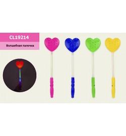 Волшебная палочка L2221 (500шт/2) 2 цвета, 36см, в пакете 11*40см свет