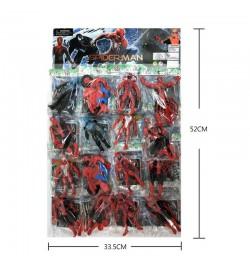 Герои SP2382 (42уп по 16шт/2)  цена за 1 ШТ МИН ЗАКАЗ 16шт, отрывн на планш 33,5*52 см человек паук