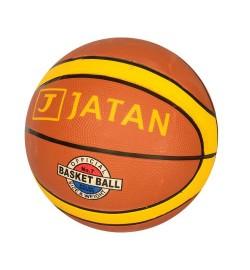 Мяч баскетбольный VA 0049 (50шт) размер7,резина,12панелей,рисунок-наклейка,550-600г,в кульке