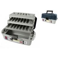 Ящик для снастей 3яр. со съемными перегородками 45*22.5*24см AQT-2703 (6шт)
