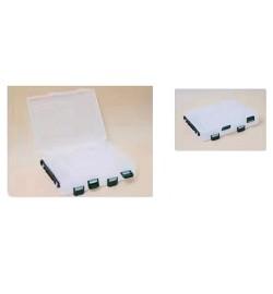 Коробка для снастей двусторонняя 20*17*4.7см SF24121 (96шт)
