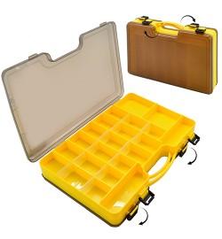 Коробка для снастей двостороння 29.5 * 21 * 6 см SF24111 (40шт)