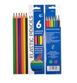 Карандаш 6 цветов CR755-6 Luminoso elastico