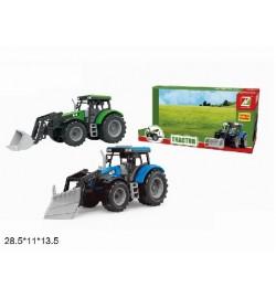 Трактор 550-46J с ковшом инерц.откр.2цв.кор.28,5*11*13,5 /48/