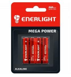 Батарейка Enerlight Mega Power LR3, ААА , трей 4/40