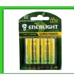 Батарейка Enerlight Super Power R6, АА , трей 4/40