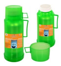 Термос пластиковый со стеклянной колбой 500мл DB105T (48шт)