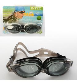 Очки для плавания 55685 (12шт) в слюде от 14 лет