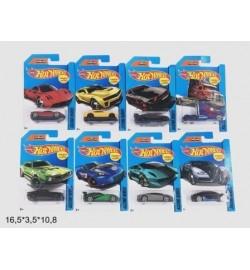 Модель легковая Hot Wheels 709-1 метал.8в.лист 16,5*3,5*10,8 /960/