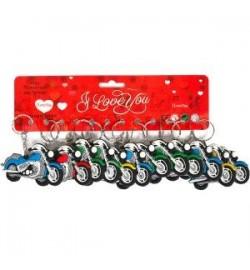 Брелок резиновый 2-129 мотоциклы