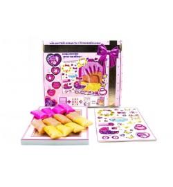 Набір дл створення відбитка з легкого стрибаючого пластиліну ТМ Moon Light Clay Create fun для дівч