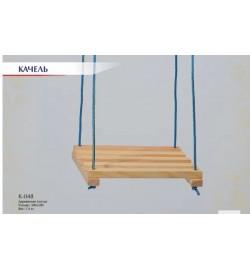 Гойдалка дерев'яна ПРОСТА (300*300)