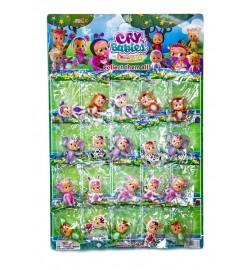 Лялька Cry Babies Magic Tears 18638 7см, на аркуші 20шт пупс герої