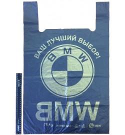 Пакет БМВ 43*75 черный Харьков