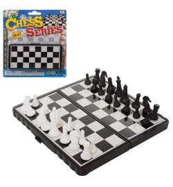 Шахматы 1836-1 (288шт) поле 13,5-14см, на листе, 17-19-2см