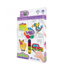 Набор теста для ліплення TM Lovin'Do Edu kids Ігри для пальчиків 1 тесто