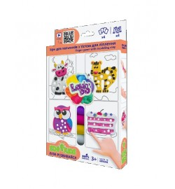 Набір тіста для ліплення TM Lovin'Do Edu kids Ігри для пальчиків 3