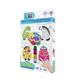 Набір тісто для ліплення TM Lovin'Do Edu kids гри пальчики 4 тісто