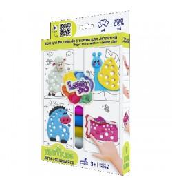 Набор теста для лепки TM Lovin'Do Edu kids игры пальчиков 10