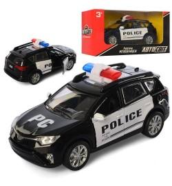Джип AS-2257 (36шт) АвтоСвіт, металл, инер-я, полиция, 13,5см, открыв.двери, в кор-ке, 17-8,5-7,5см