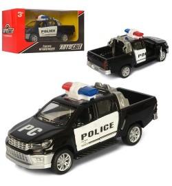 Джип AS-2261 (36шт) АвтоСвіт, металл, инер-я, полиция, 14см, открыв.двери, в кор-ке, 17-8,5-7,5см