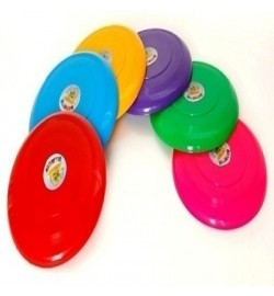 Летающая тарелка 6 цветов запускалка