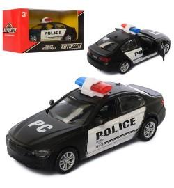 Машина AS-2258 (36шт) АвтоСвіт, металл, инер-я, полиция, 14см, открыв.двери, в кор-ке, 17-8,5-7,5см