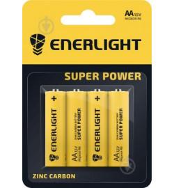 Батарейка Enerlight Super Power R6, АА , блистер 4/48/576 цена за 4 шт паличик